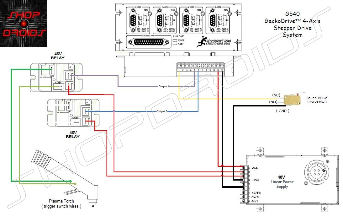 Plasma Cutter Schematic Diagram