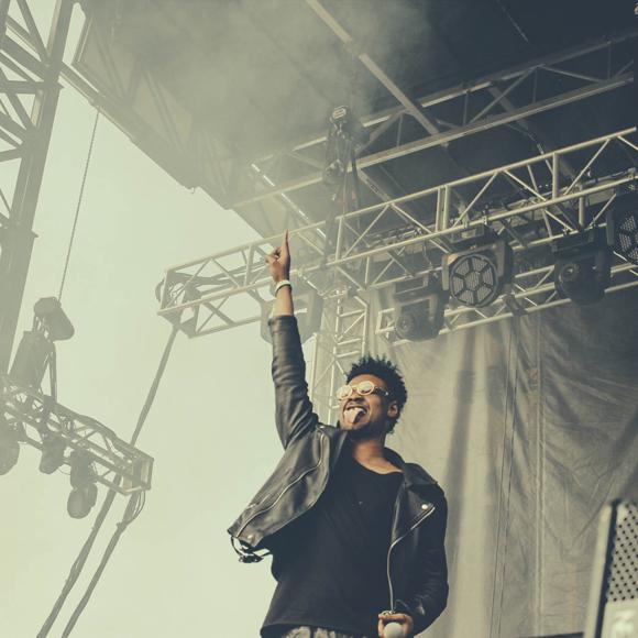 Danny Brown @ Pitchfork Music Festival 2014