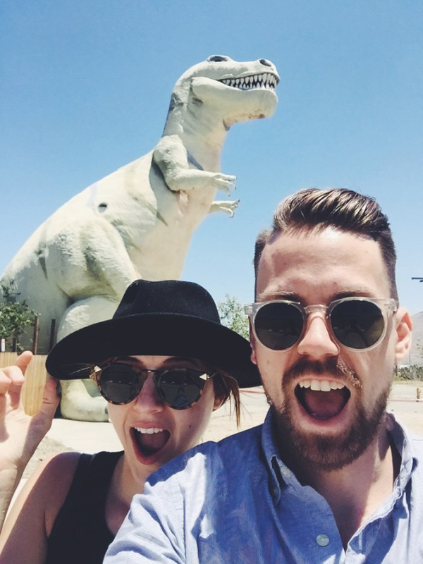 Cabazon Dinosaurs - Tell 'Em Large Marge Sent Ya