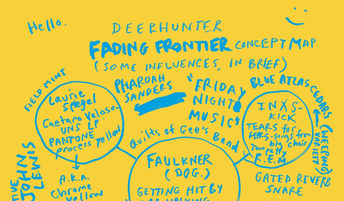 Deerhunter Share Interactive Influences Map For New Album