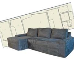 One Arm Sofa Slipcover Bob O Pedic Sleeper Reviews Custom Patterns For Sectional L Shaped Sofas Guide Slipcovers