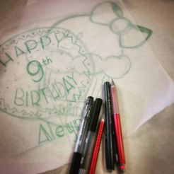 More Drawings for Birthday Parties for Sew Dayton!
