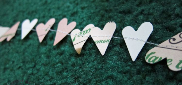 Sewn Garland for Weddings or Parties on A Budget – Tutorial