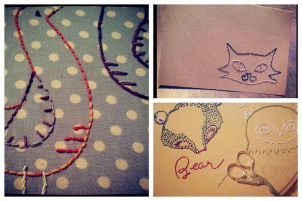Embroidery 101; Basic Stitches