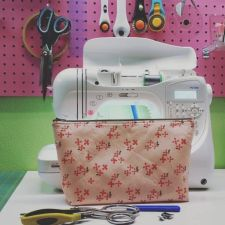 sewing with a zipper foot