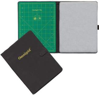 Omnigrid Foldaway Mid-Size Cutting Mat & Ironing Area 9in x 12in # OG2105