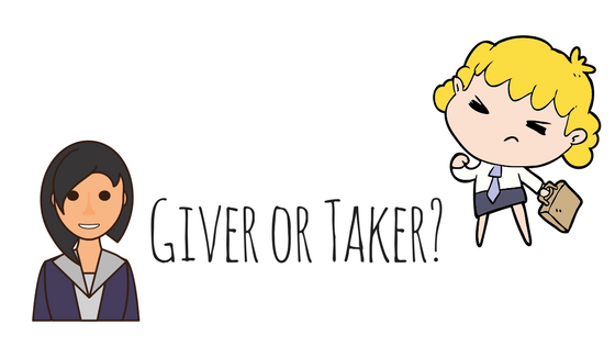 Giver or Taker?