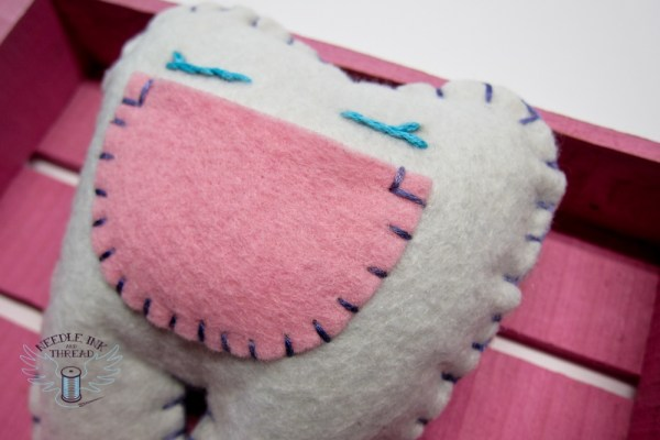 Tooth Fairy Pillow - Embroidery 101 @ Needle, Ink and Thread | Beavercreek | Ohio | United States