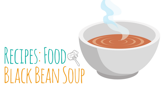 Recipes : Black Bean Soup – Delicious, Nutritious and Filling!