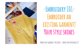 embroidery 101 tee shirt