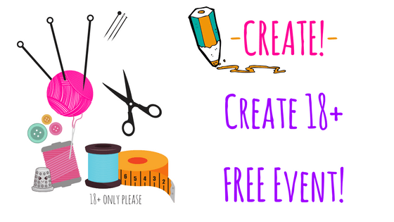 Create! Making time to be creative! Free event  Ages 18+ - Feb 24th 10am - 12:30PM @ Needle, Ink and Thread | Dayton | Ohio | United States