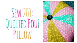 Quilted PouF Pillow