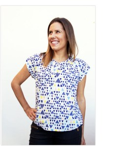 Sew To Grow with Lindsey Rae Designs | The Bondi Top