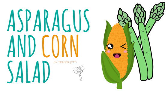 asparagus and corn salad