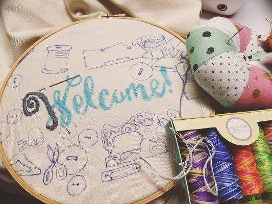 learn the embroidery basics