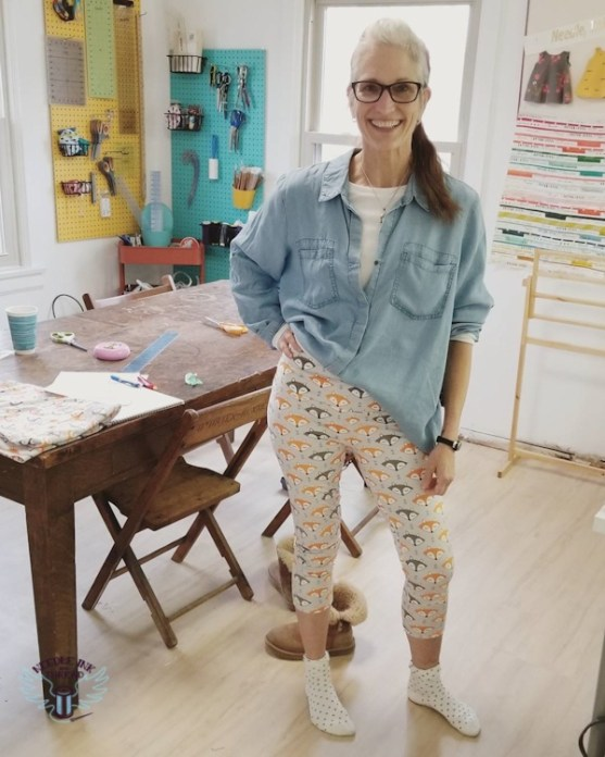 learn to sew leggings-1