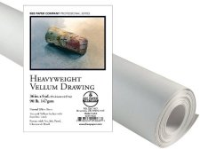 Bee Paper Heavy Vellum Sketch Roll, 36-Inch by 5-Yards