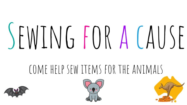 Sewing for Australia and Critters