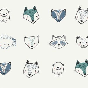 Furries Cool - Pure Elements - Art Gallery Fabric - Quilting Cotton #CAP-PL-1300