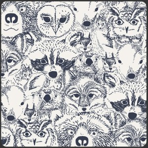 Menagerie Onyx - Art Gallery Fabric - Quilting Cotton #IS-18911