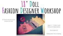 18 Doll Fashion Designer Workshop