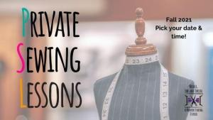 private sewing lessons fall