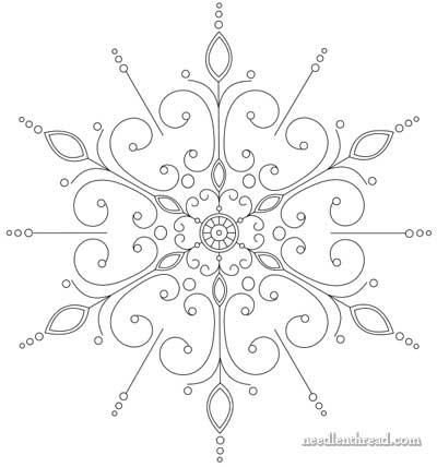 Free Beaded Snowflake Patterns
