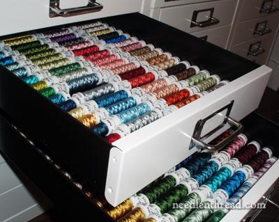 Embroidery Thread Storage  Organization  NeedlenThreadcom