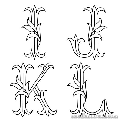 New Tulip Monograms (I – L) and News