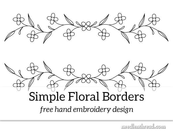 Simple Floral Borders