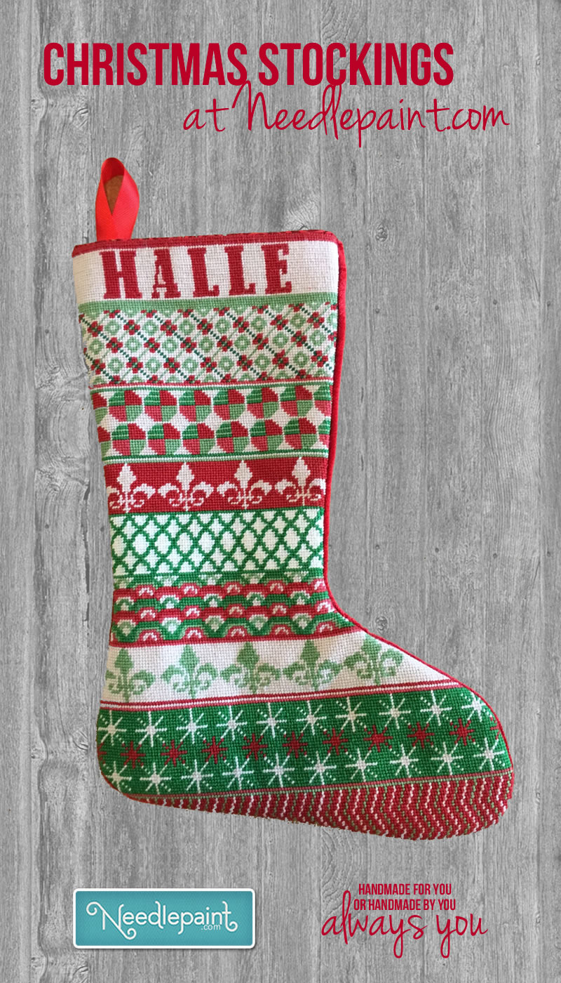 Christmas Stockings  NeedlePoint Kits and Canvas Designs