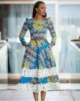 African Ankara Dresses Short