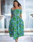 Short Ankara Dress Styles