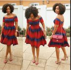 African Print Dresses Fashion