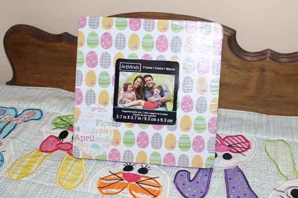 Easter Decoupage Photo Frame