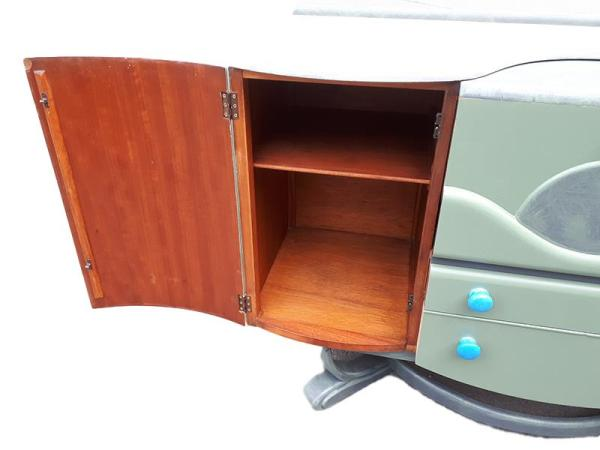 1950's Beautility Cocktail Cabinet - inside left hand side cupboard.
