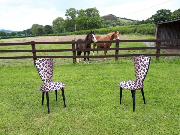 Cocktail Chairs - horsing around!