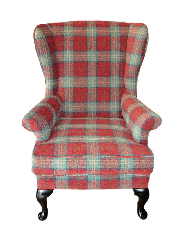 Win this 'Parker Knoll' Wingback chair - help raise money for Cancer Research Wales.