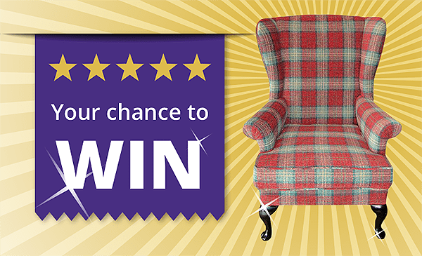 Win this 'Parker Knoll' Wingback chair.