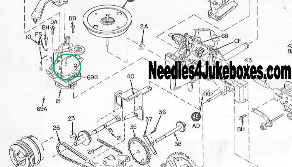 Rowe Ami Jukebox Manual