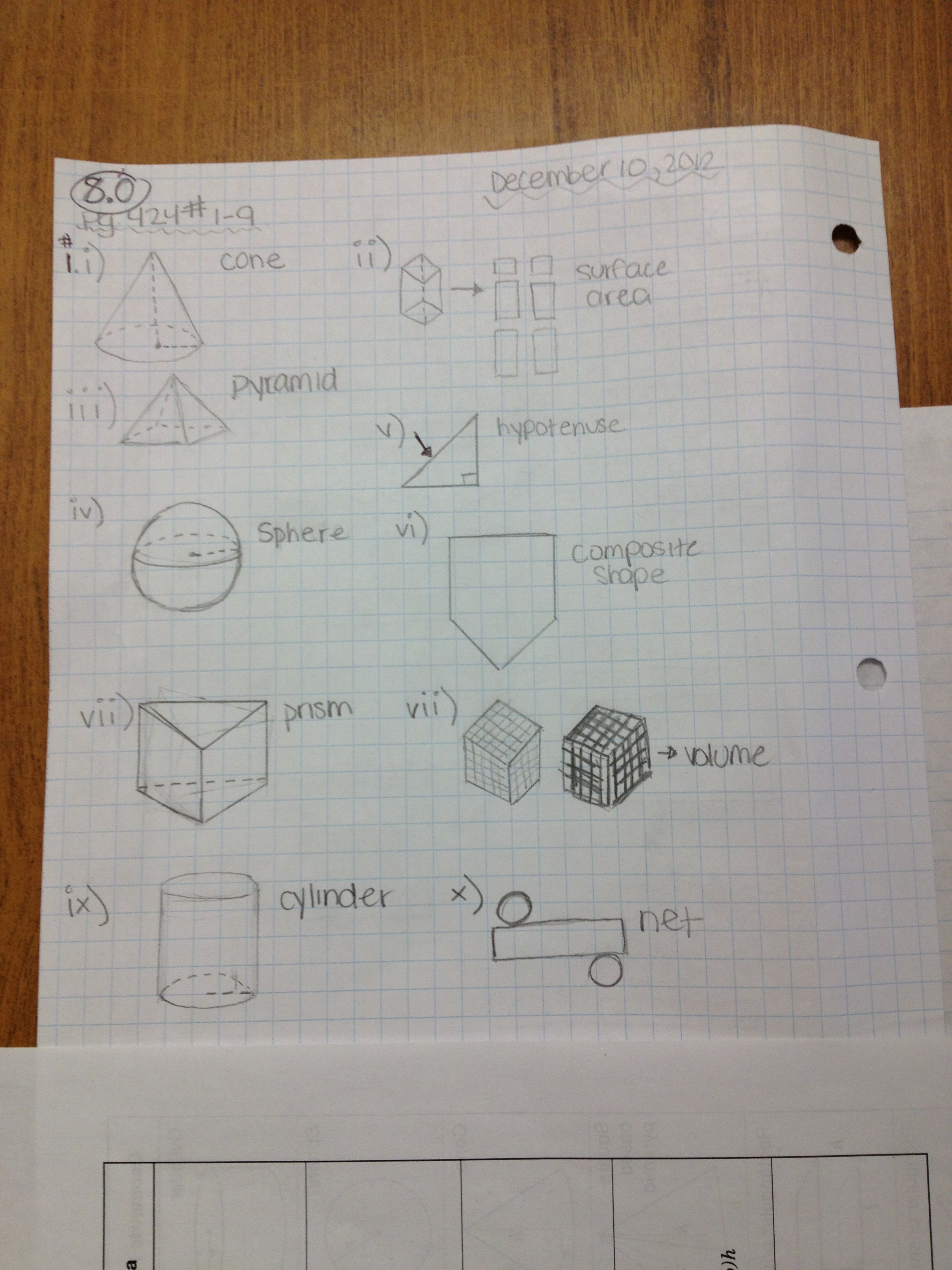 Needmathhelp Grade 9 Mathematics The Path Is Full Of Numbers