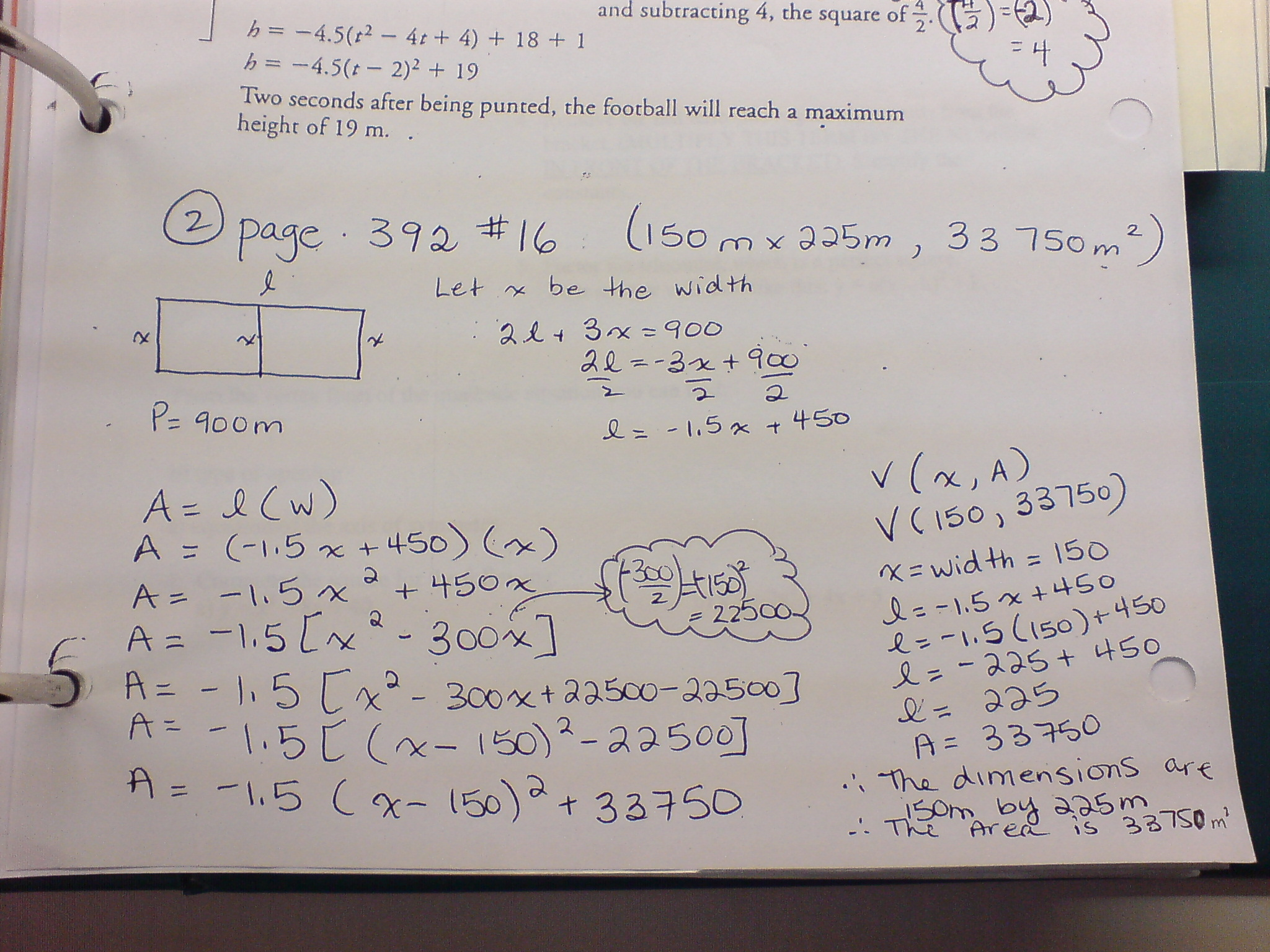 Homework Help Quadratic Equation Pictures