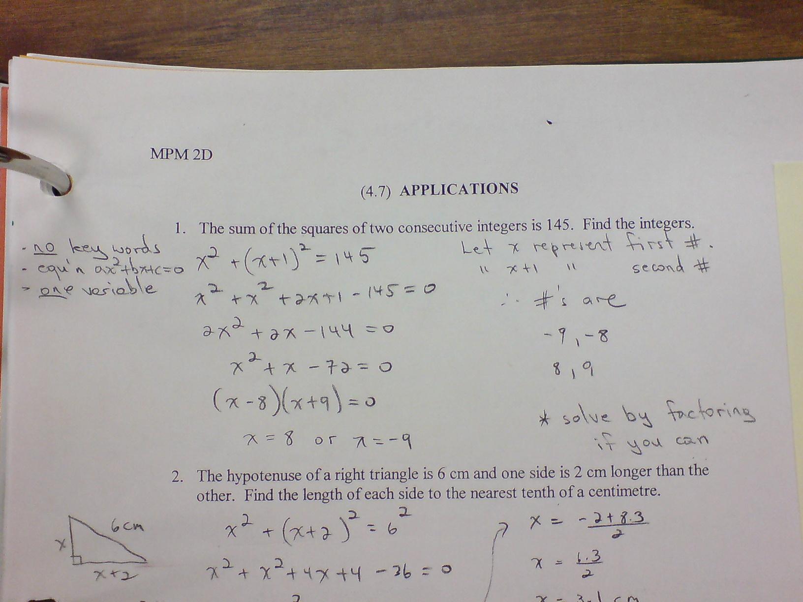 Need Math Help Grade 10 Mathematics