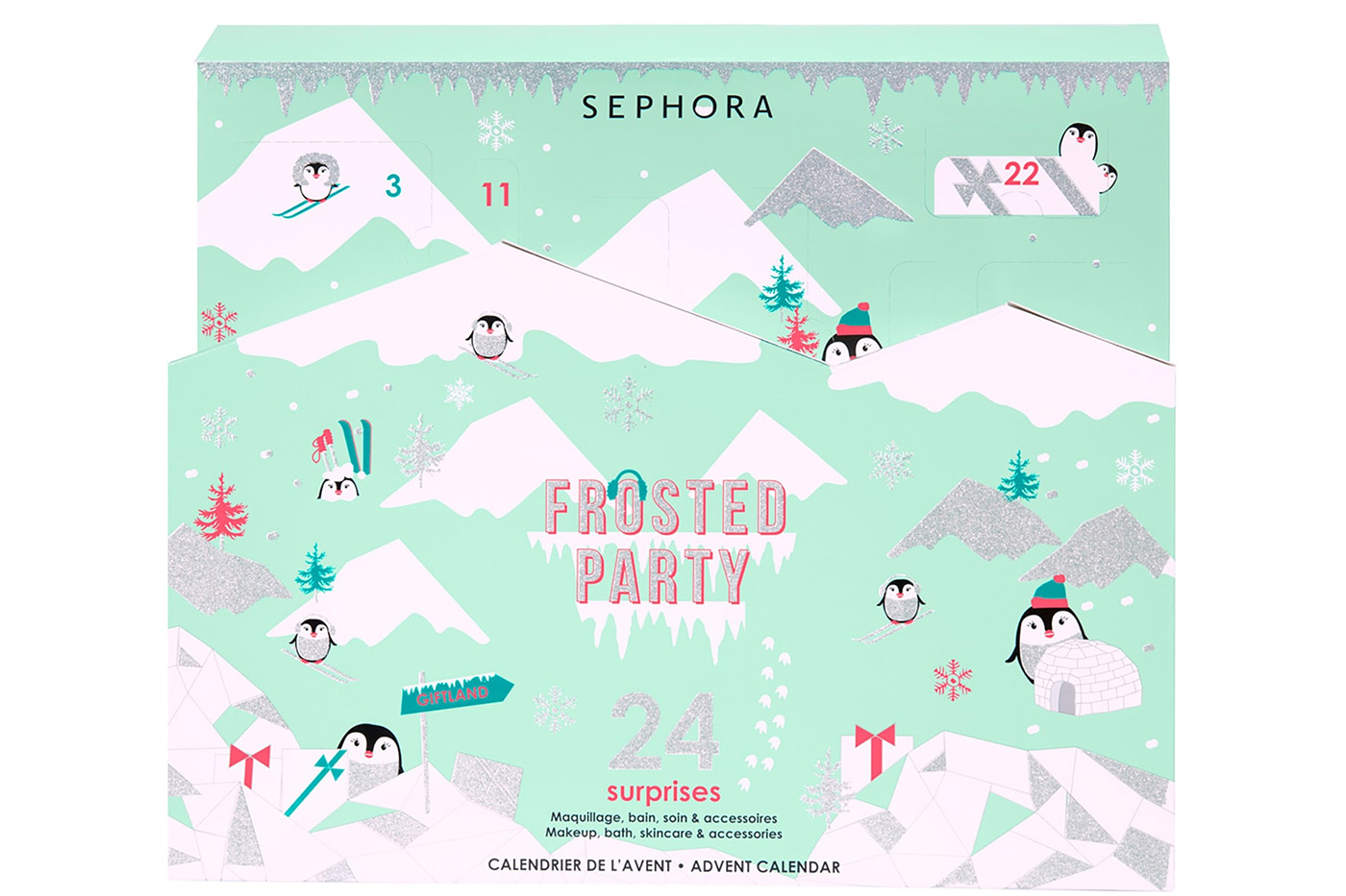 Calendrier De L Avent Sephora 2019 Frosted Party Code Promo Spoiler