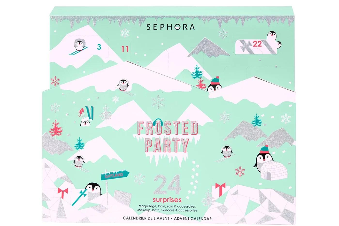 Calendrier De L Avent Sephora 2019 Frosted Party Code Promo Spoiler
