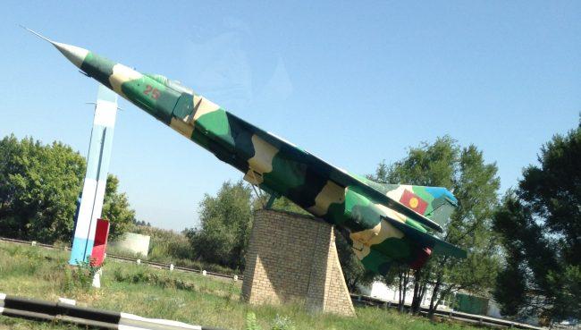 Soviet fighter jet