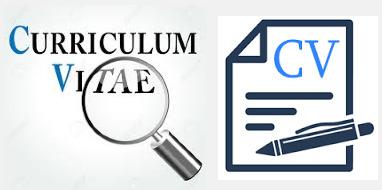 Curriculum Vitae (CV) a.k.a Biodata Diri (Riwayat Hidup)