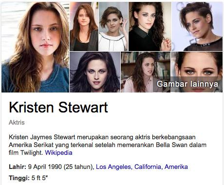 Kristen Stewart aktris terkaya di dunia