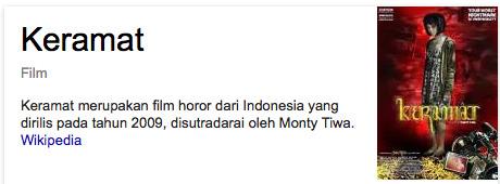 Film Keramat daftar film horor indonesia