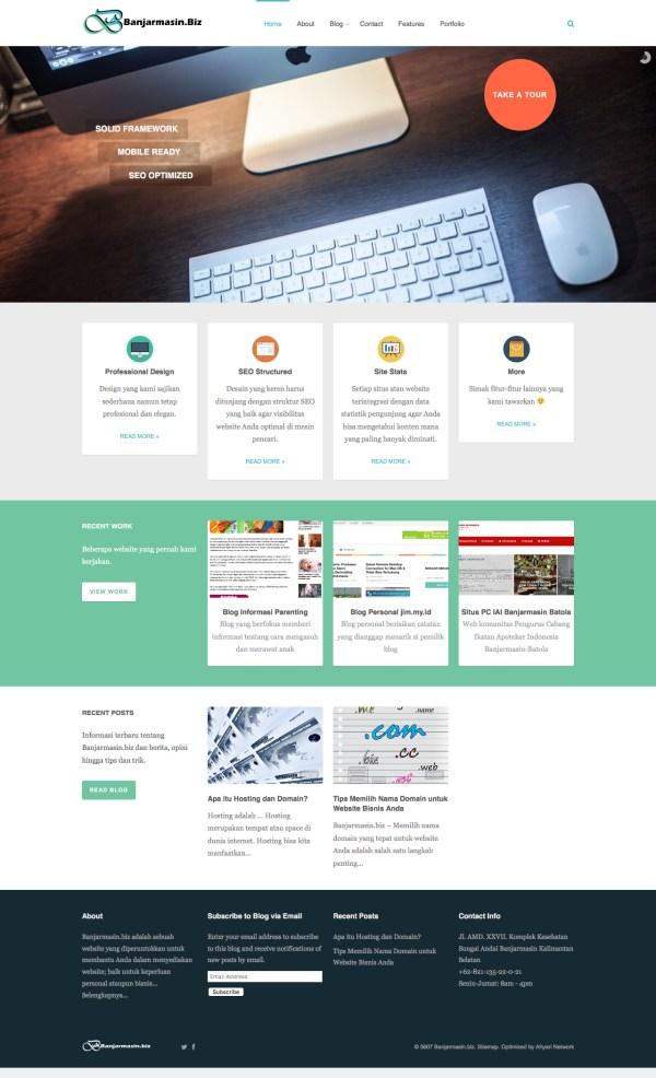 contoh ta we contoh tugas akhir manajemen informatika bsi web design